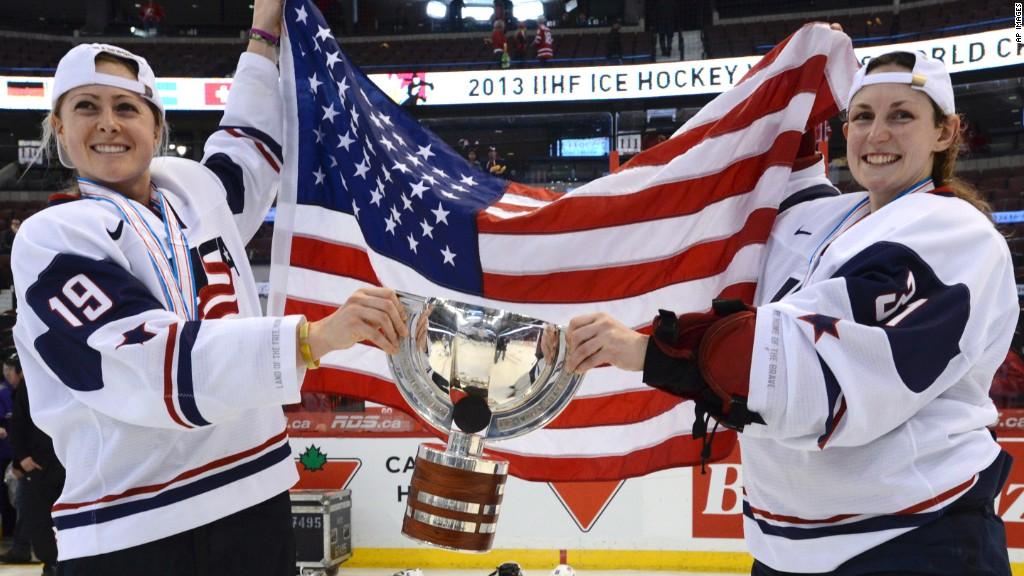 Hockey Versus the USA Women's National Team