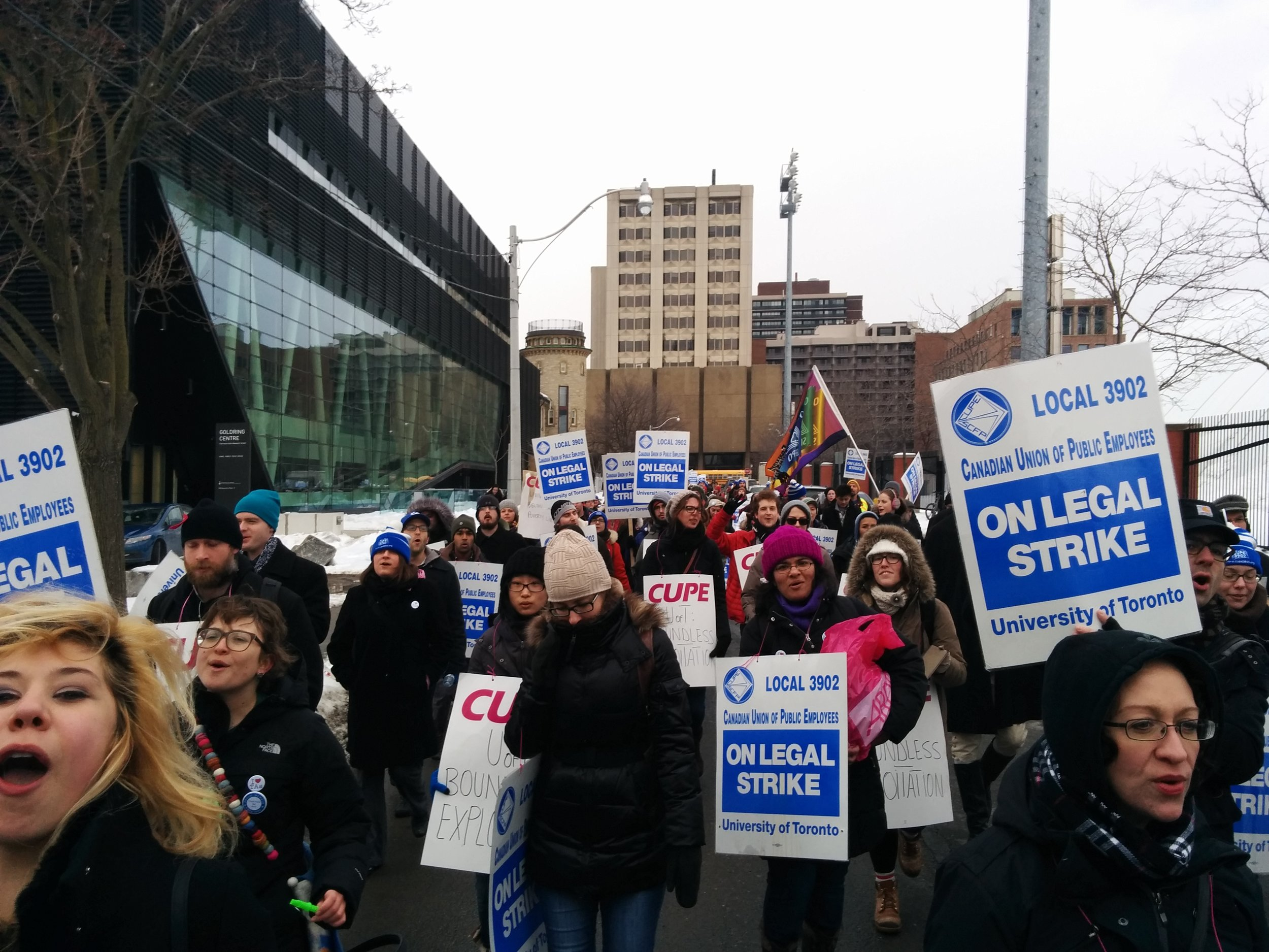 CUPE 3902, Unit 1 Votes for Strike Mandate