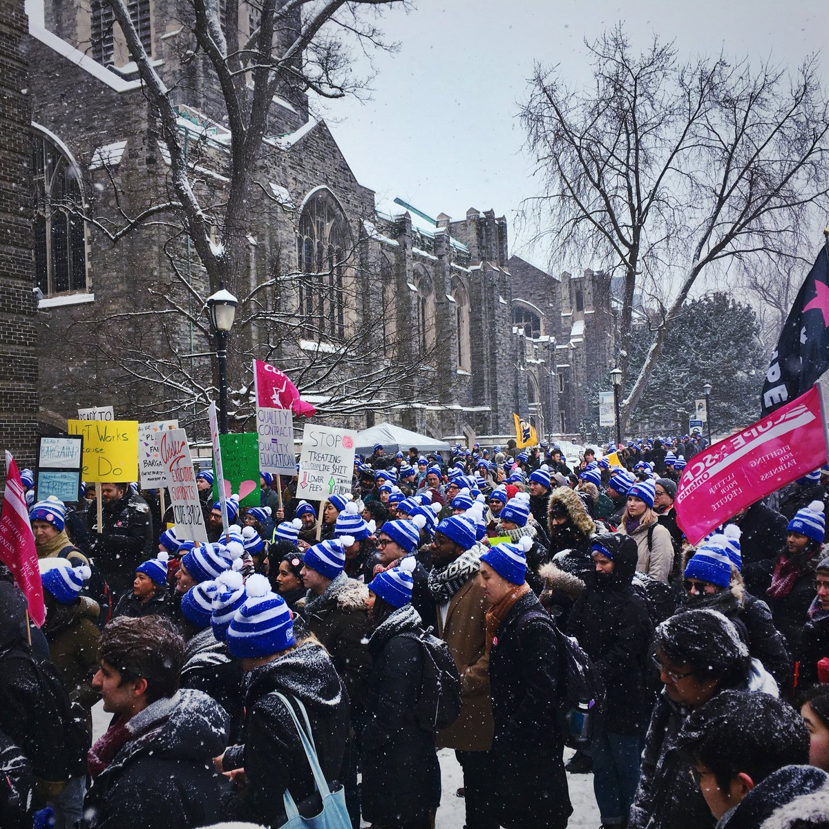 CUPE 3902 Unit 1 and U of T Come to Tentative Agreement