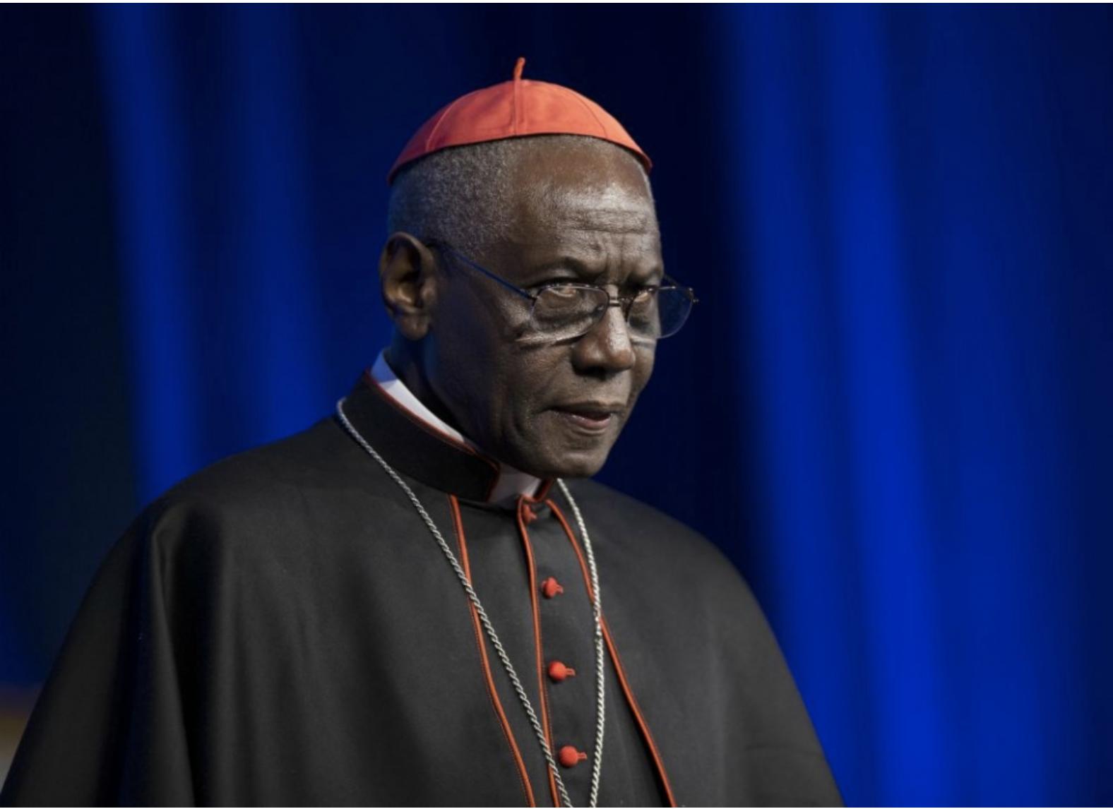 Cardinal Robert Sarah Visits USMC