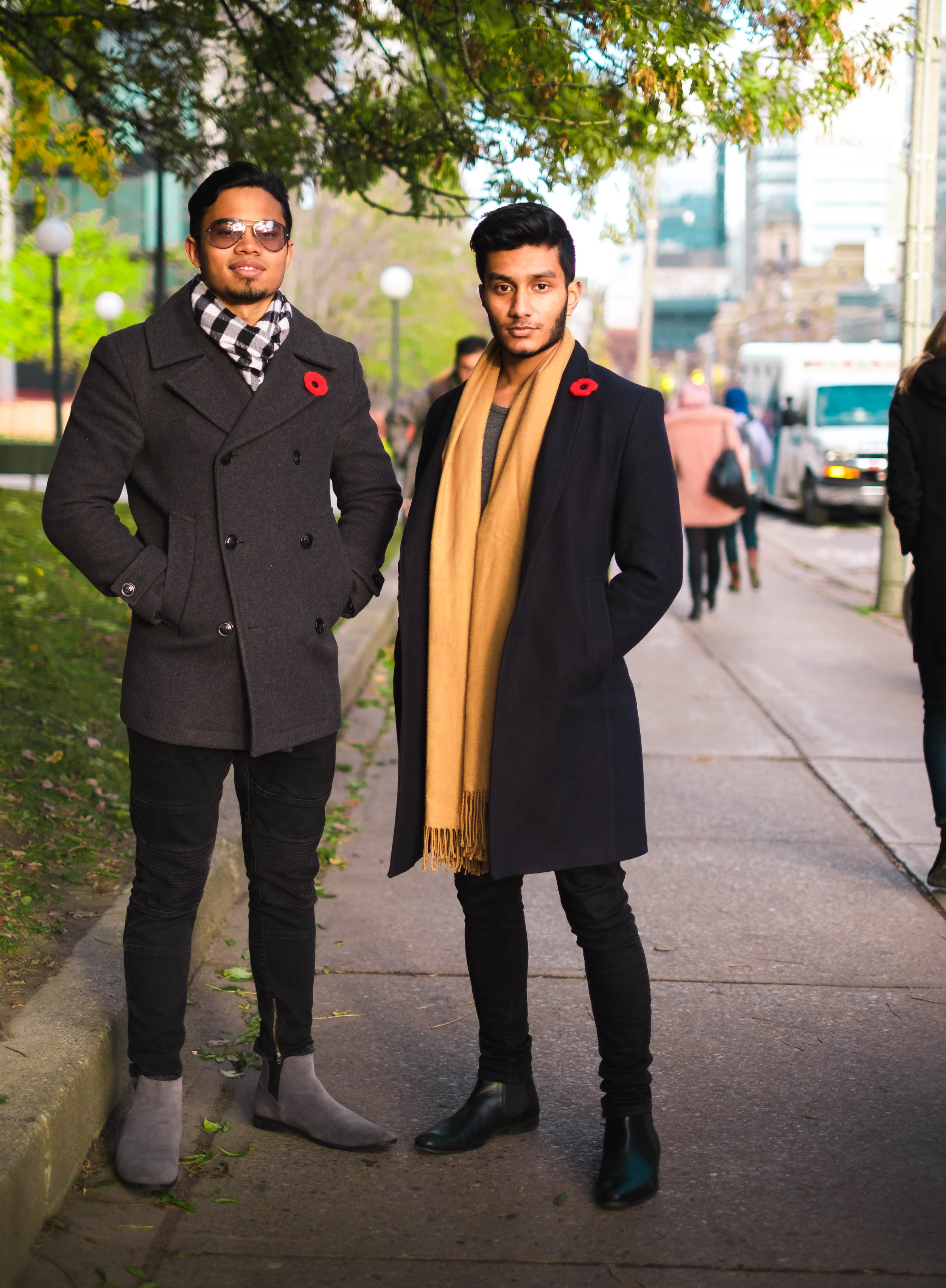 Humans of USMC: Omar Quazi and Shadman Aziz