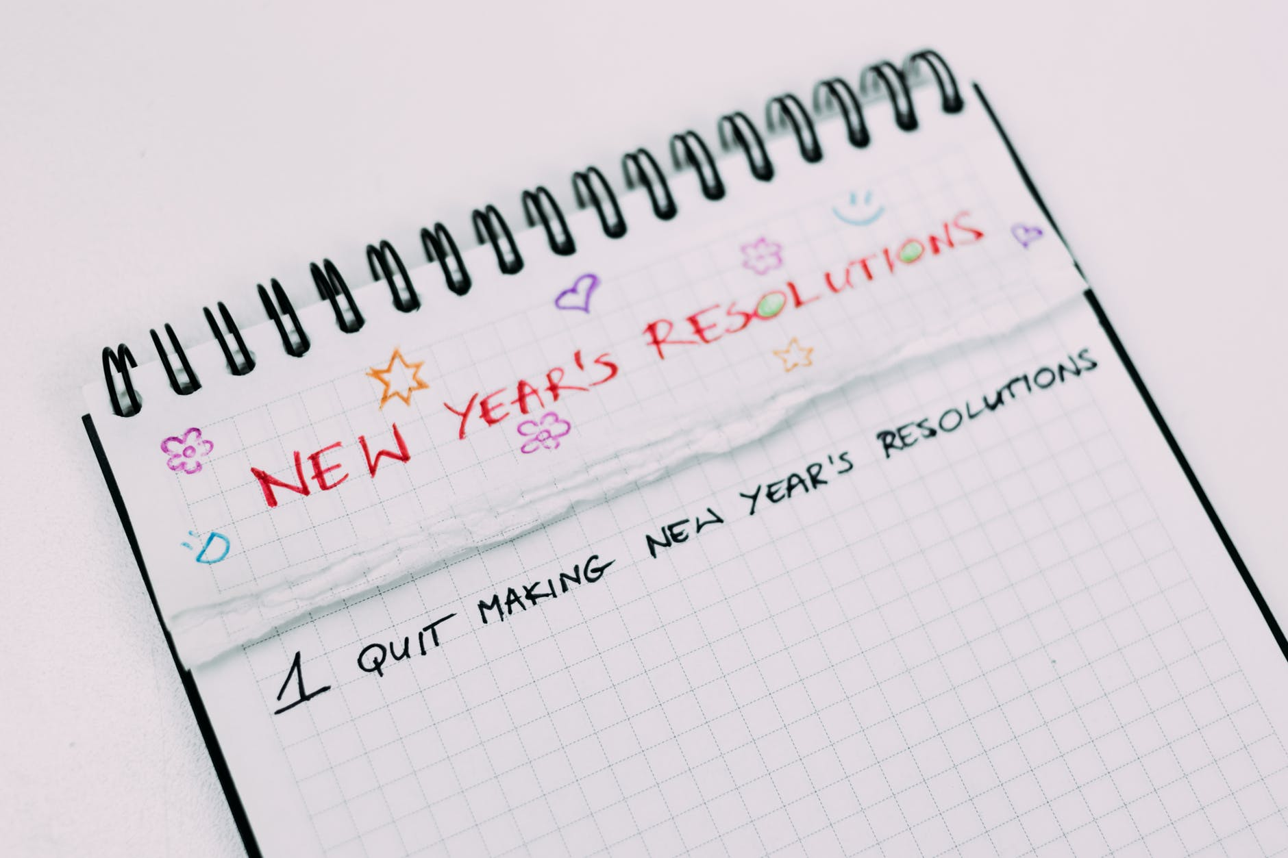 New Year, New Resolution, No Resolve