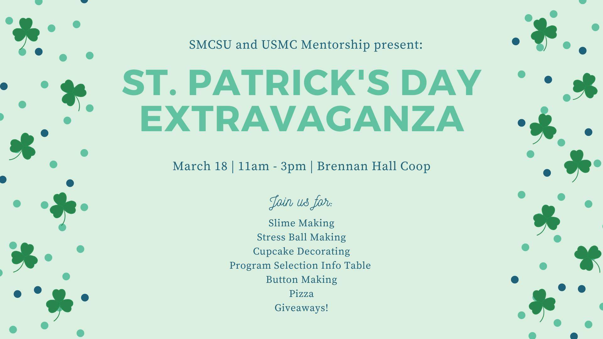 St. Paddy's Day Festivities at St. Mike's
