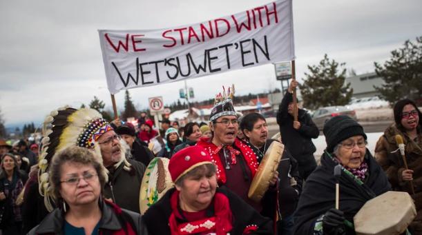 Petition in Solidarity to Wet'suwet'en Land Defenders