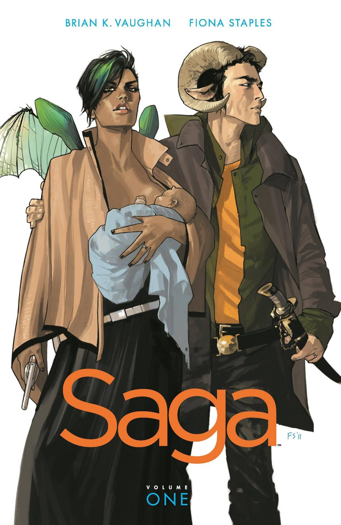 Graphic Novel Review: Saga